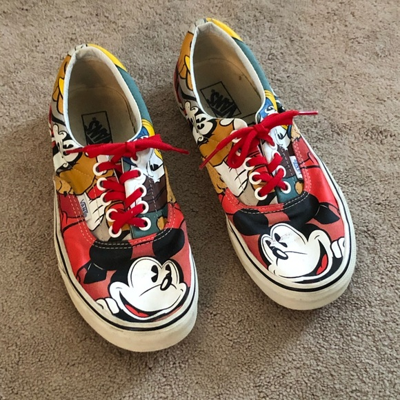 Disney Vans Tennis Shoes Mickey Mouse